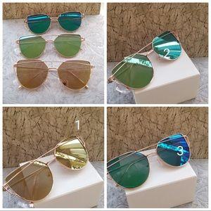 Sunglasses forWomen, Aviator Polarized Cat E